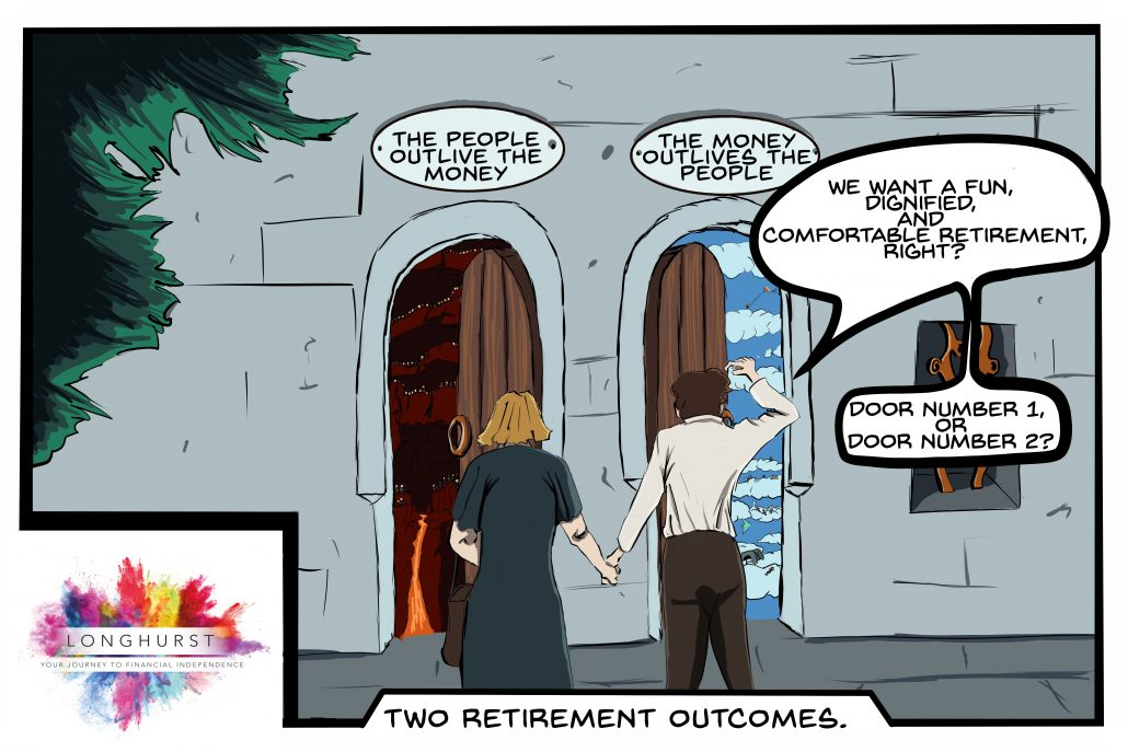 Two Retirement Outcomes