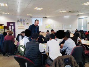 Chris Broome - Kingsthorpe College