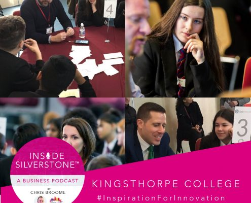 Inside Silverstone - Kingsthorpe College