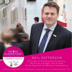 Neil Patterson - Silverstone UTC