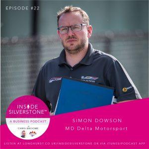 Inside Silverstone Simon Dowson