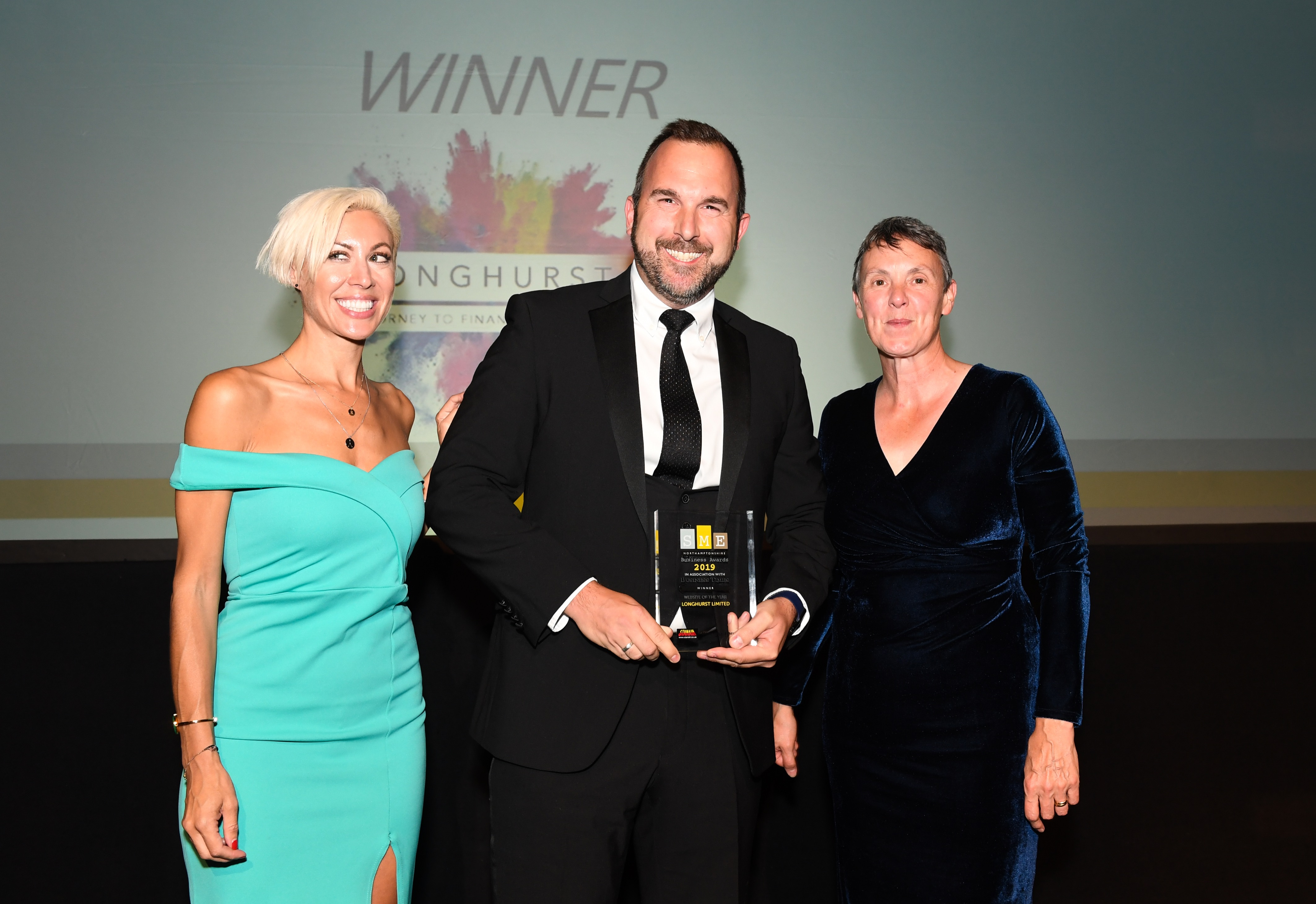 Longhurst - Website of the Year - SME South Northamptonshire Awards