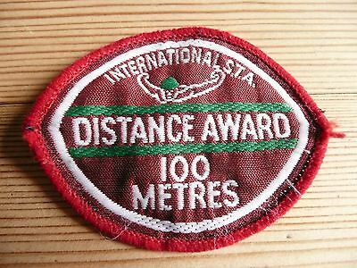 100 Metre Swimming Badge