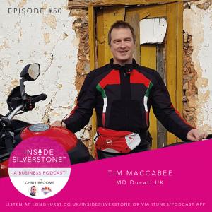 Tim Maccabee - Ducati UK