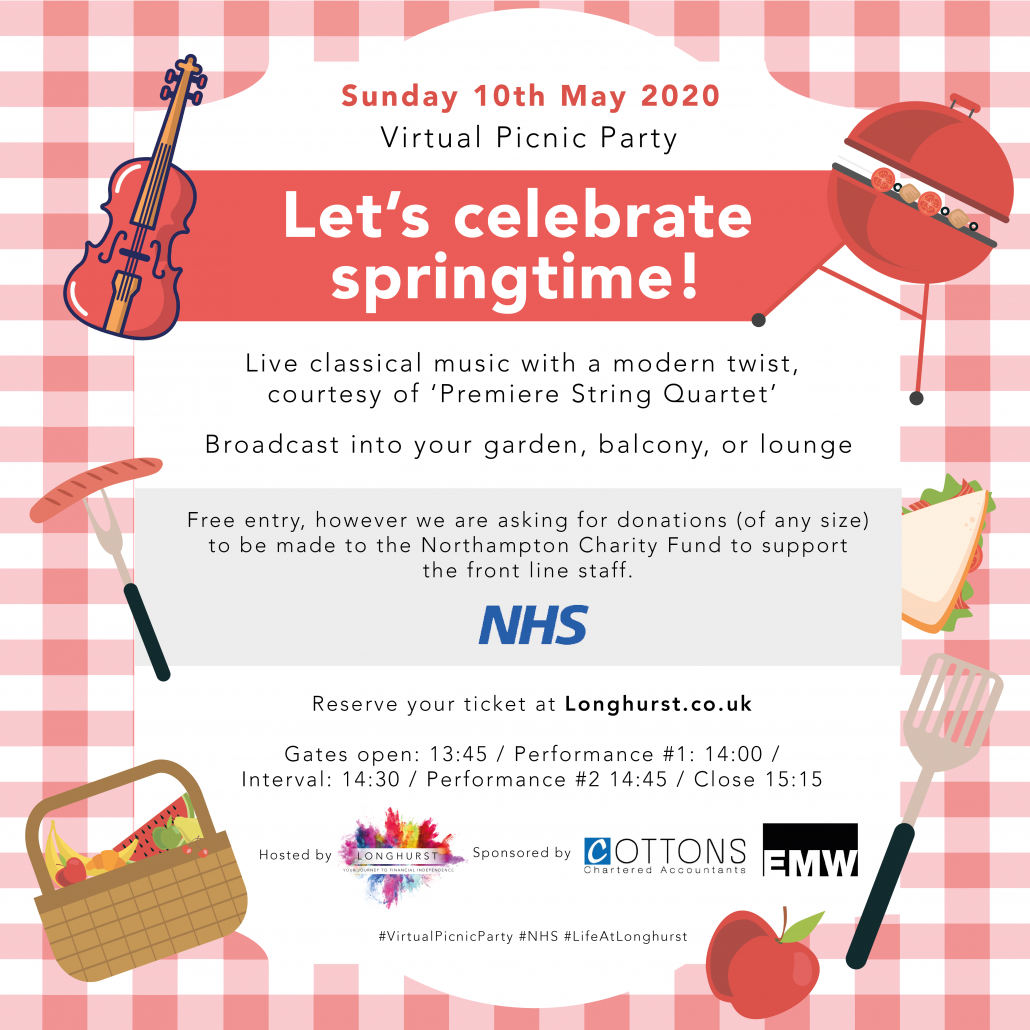 Longhurst - Virtual Picnic Party