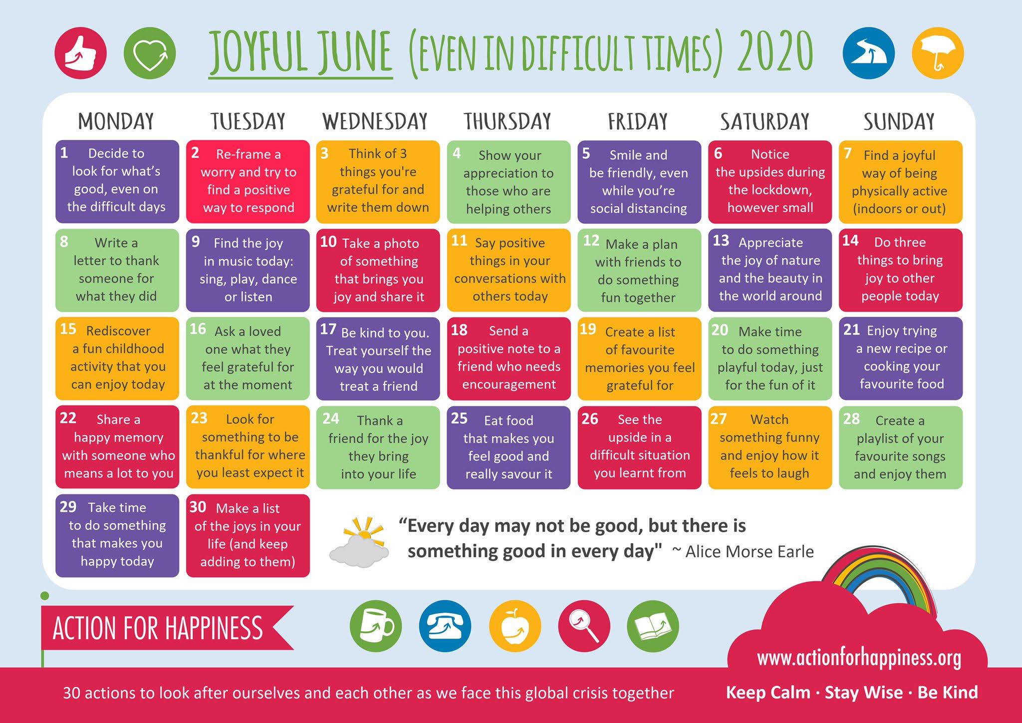 Joyful June