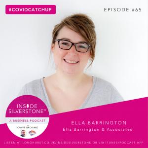 Ella Barrington - Inside Silverstone