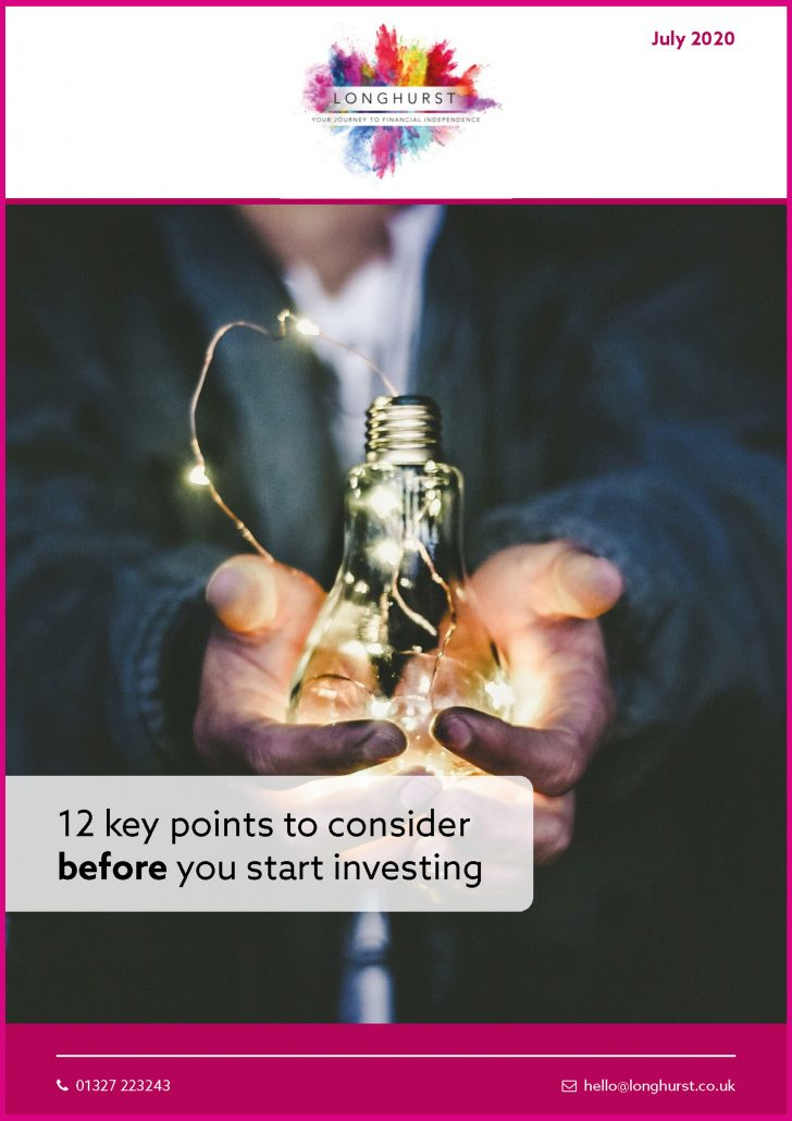 Longhurst - 12 key points to consider before investing