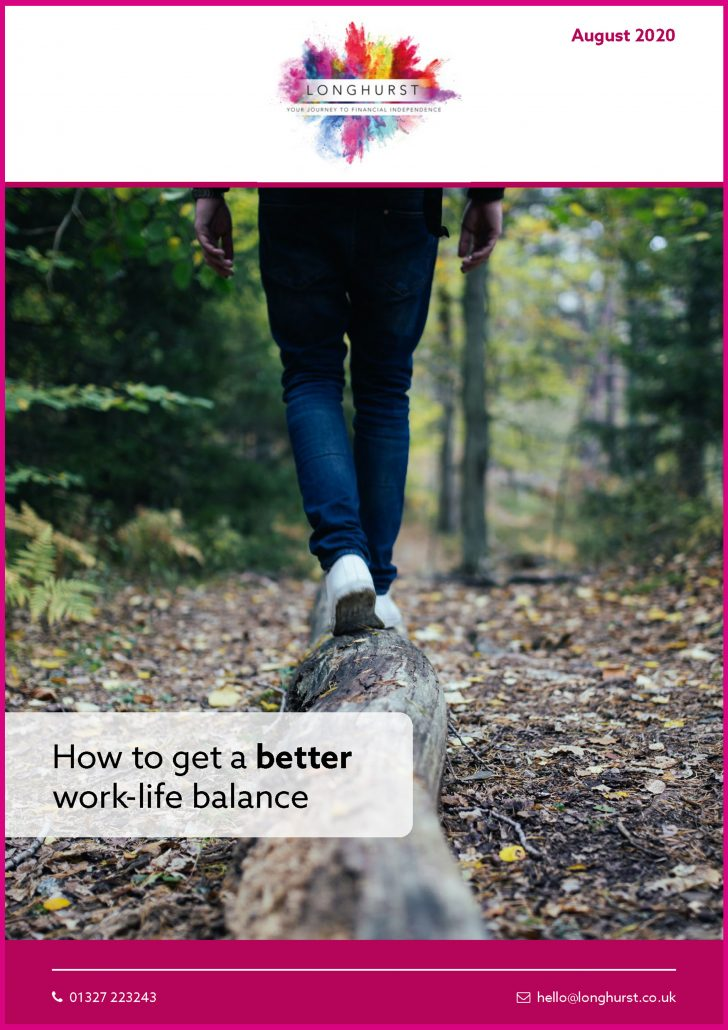Longhurst - How to get a better work life balance