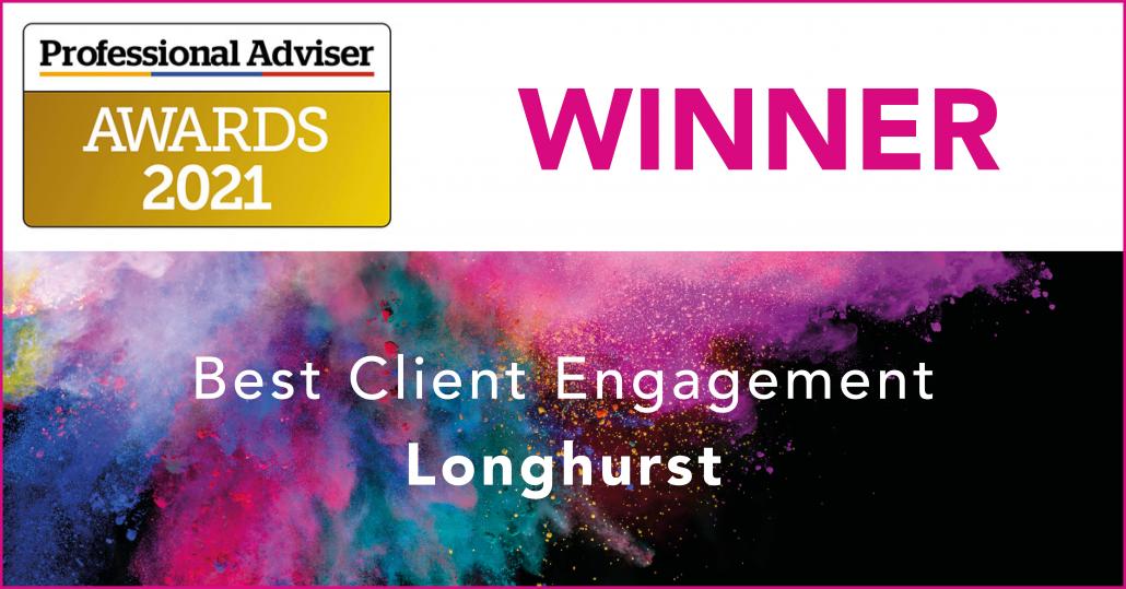 Longhurst - Professional Adviser Awards 2021