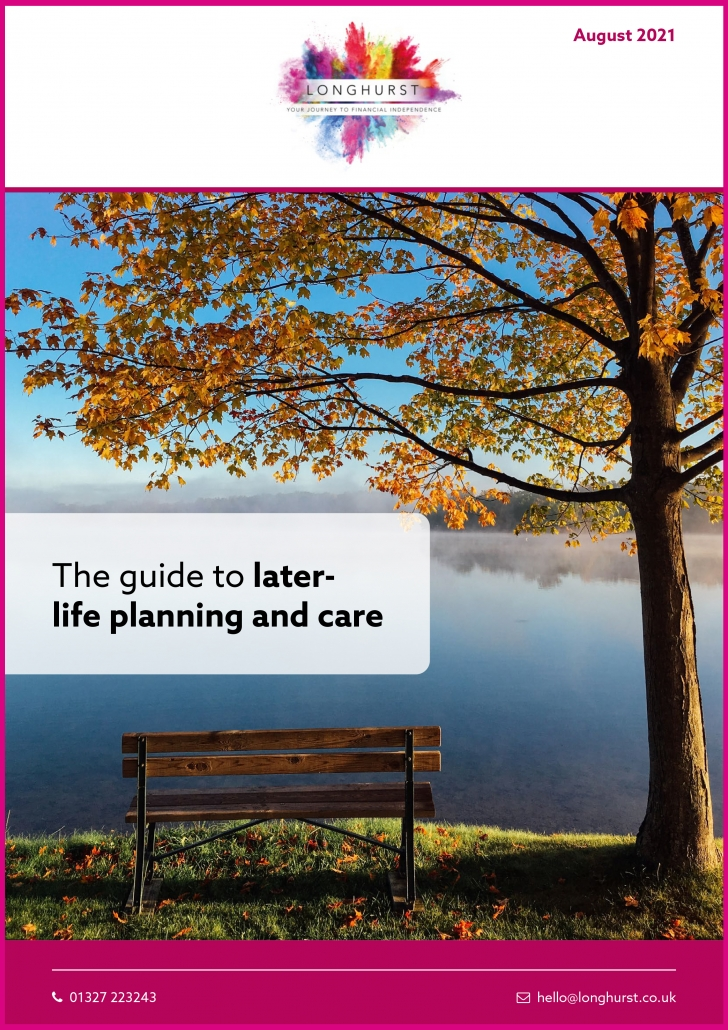 Longhurst - The guide to later-life planning and care